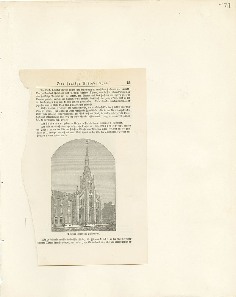 Castner Scrapbook v.22, Churches 1, page 71