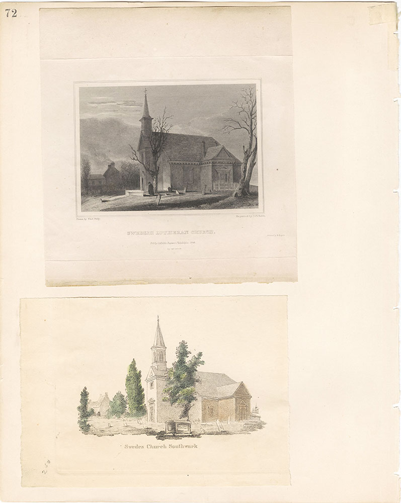 Castner Scrapbook v.22, Churches 1, page 72
