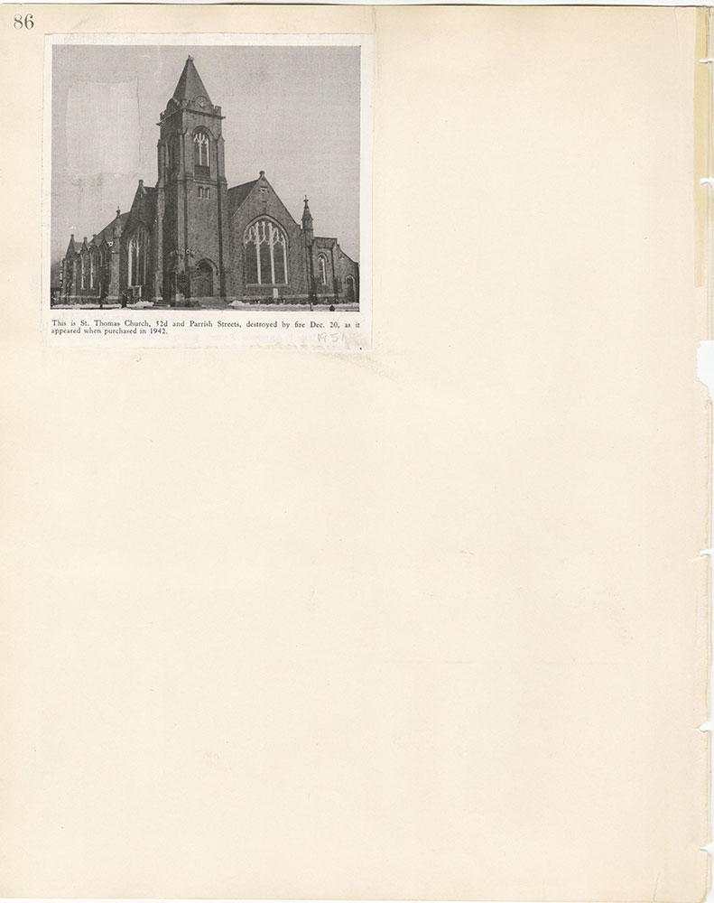 Castner Scrapbook v.22, Churches 1, page 86