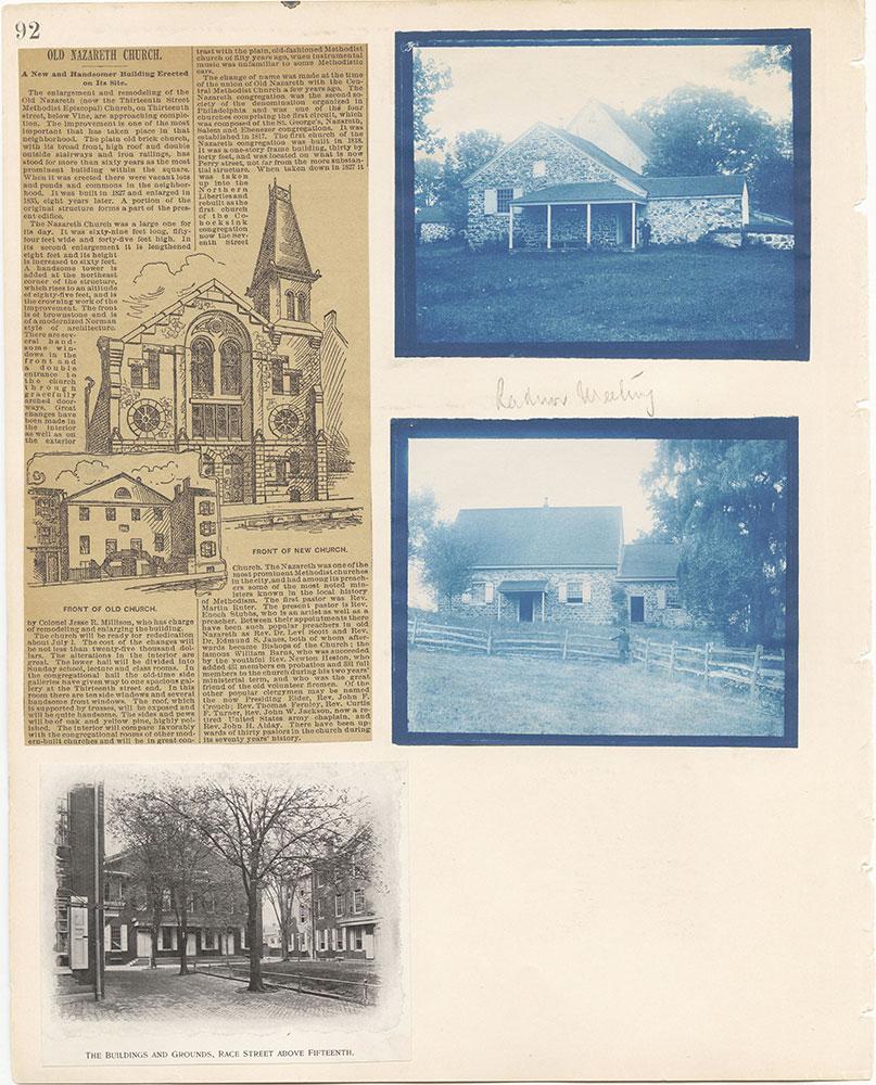 Castner Scrapbook v.22, Churches 1, page 92