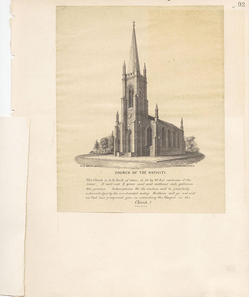 Castner Scrapbook v.22, Churches 1, page 93