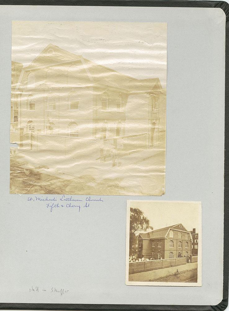 Castner Scrapbook v.22, Churches 1, inside back cover