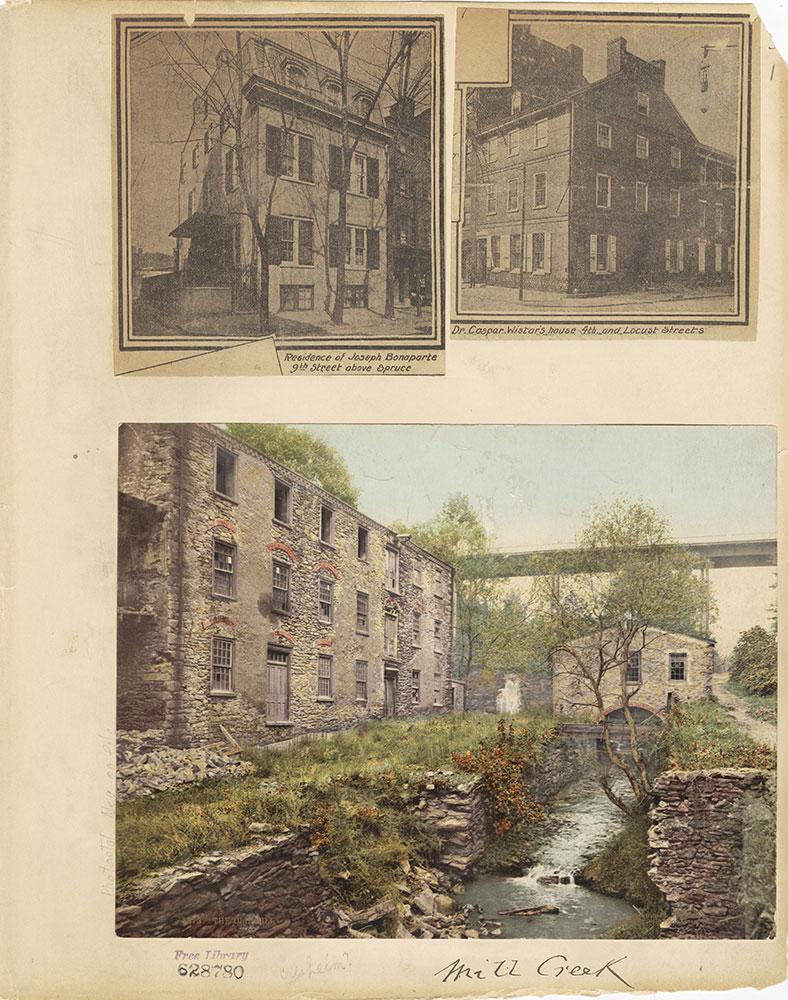 Castner Scrapbook v.27, Old Houses 4, page 1