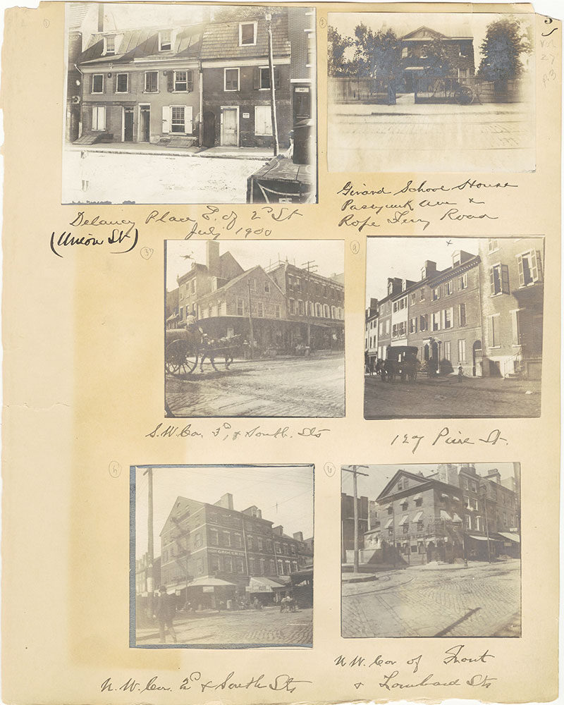 Castner Scrapbook v.27, Old Houses 4, page 3