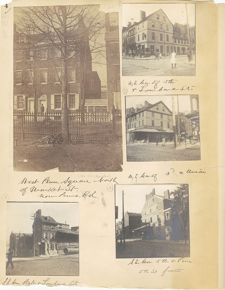 Castner Scrapbook v.27, Old Houses 4, page 4