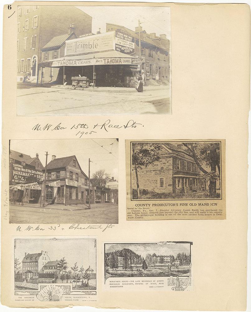 Castner Scrapbook v.27, Old Houses 4, page 6