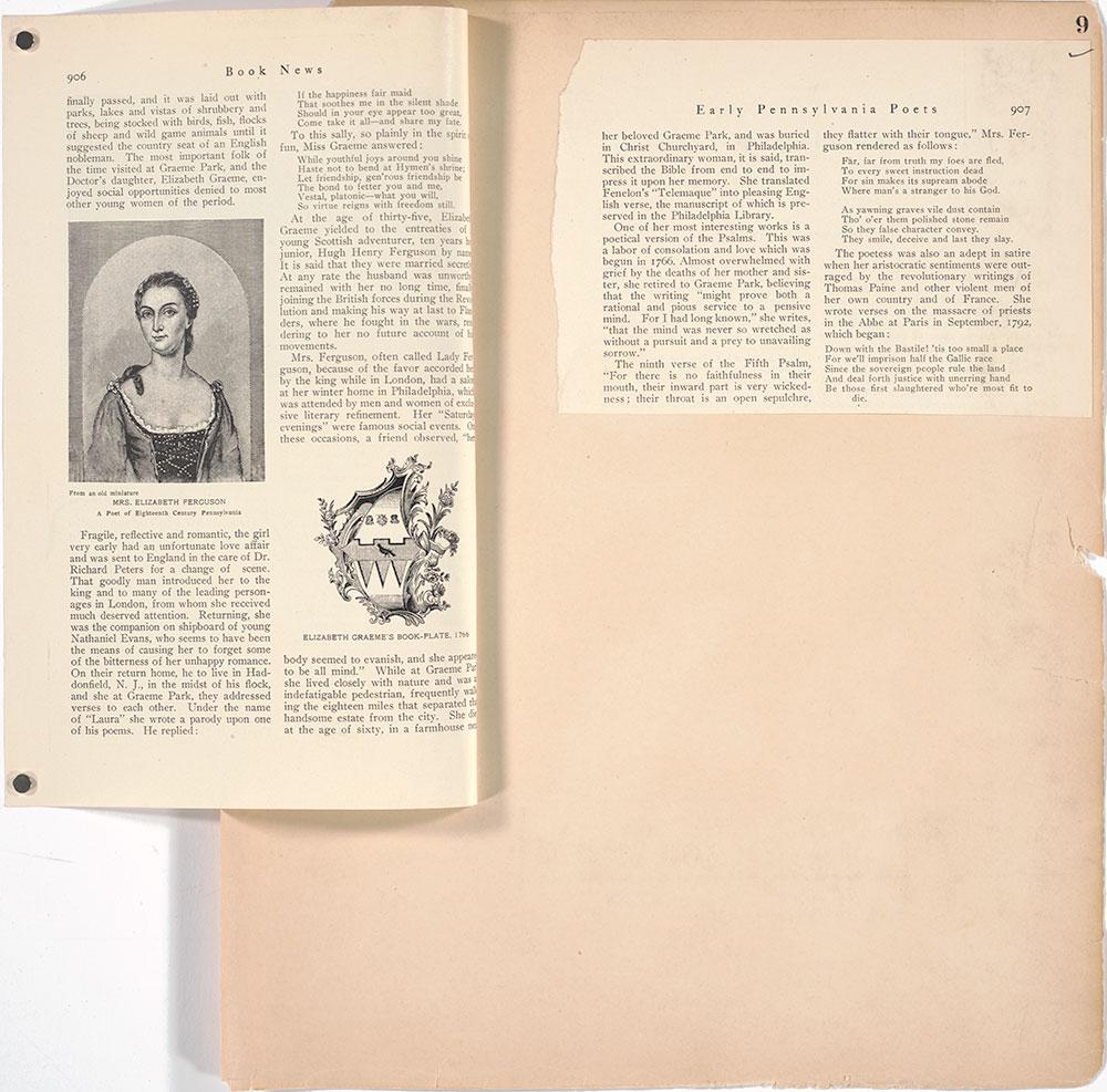 Castner Scrapbook v.27, Old Houses 4, page 9