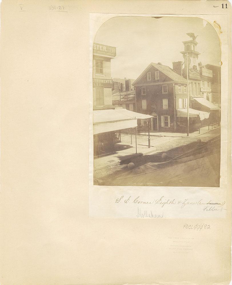 Castner Scrapbook v.27, Old Houses 4, page 11