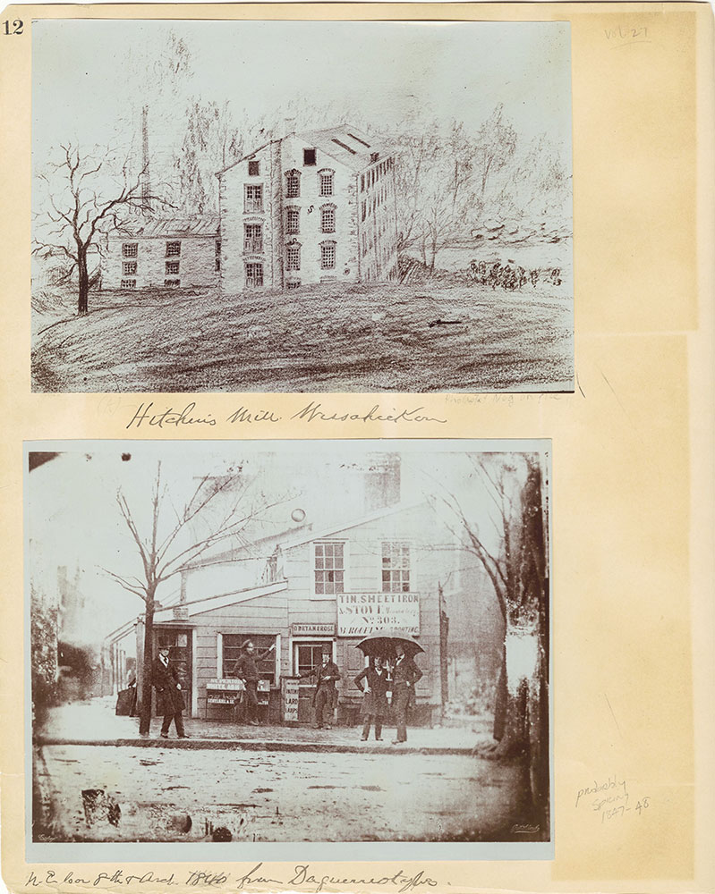 Castner Scrapbook v.27, Old Houses 4, page 12