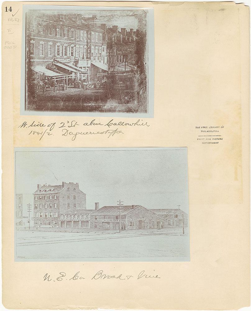 Castner Scrapbook v.27, Old Houses 4, page 14