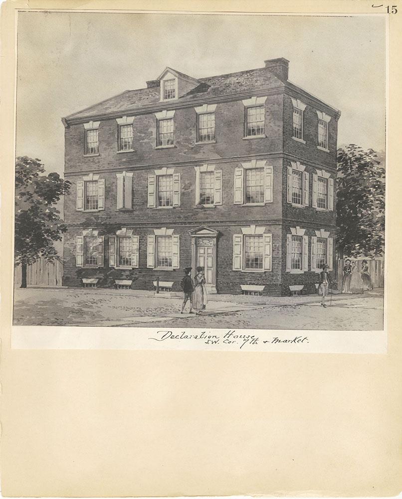 Castner Scrapbook v.27, Old Houses 4, page 15