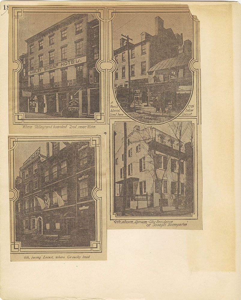 Castner Scrapbook v.27, Old Houses 4, page 18