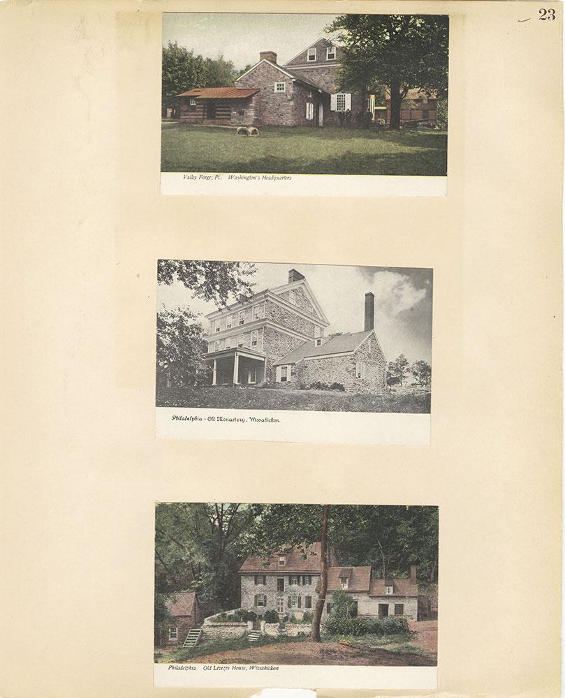 Castner Scrapbook v.27, Old Houses 4, page 23