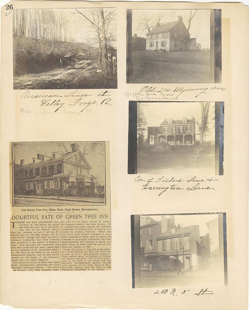 Castner Scrapbook v.27, Old Houses 4, page 26