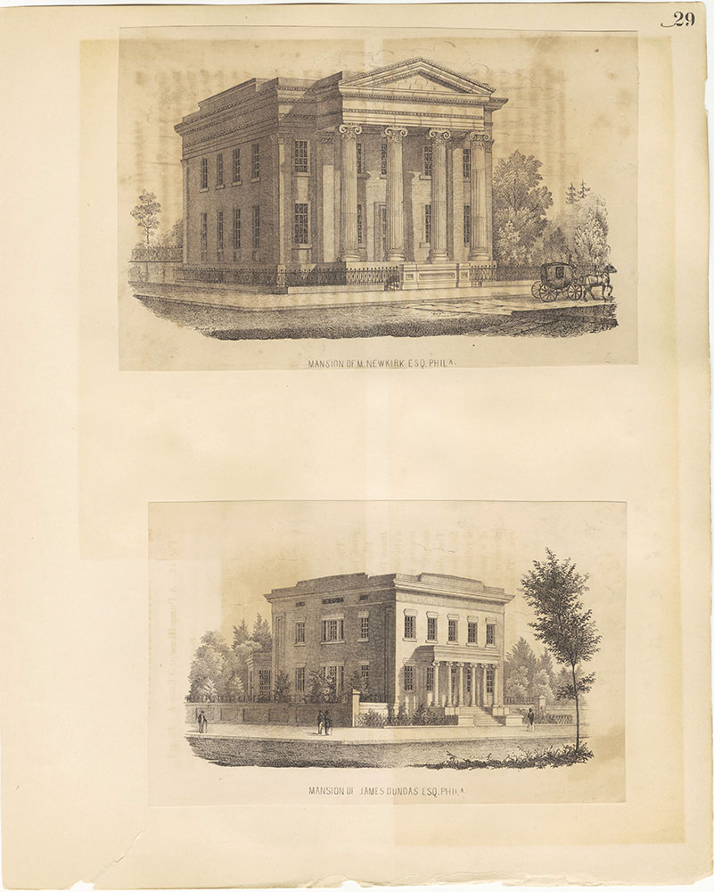Castner Scrapbook v.27, Old Houses 4, page 29
