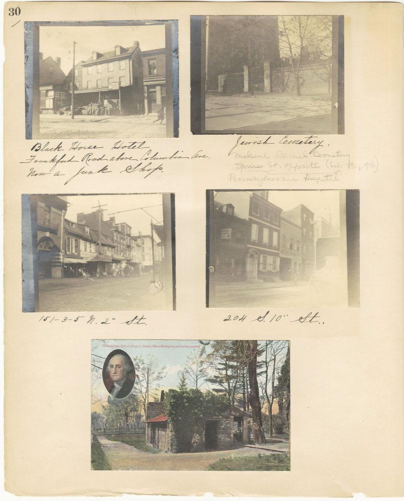 Castner Scrapbook v.27, Old Houses 4, page 30