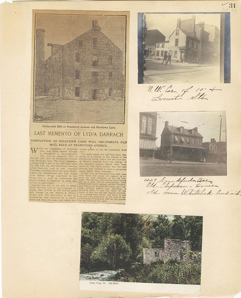 Castner Scrapbook v.27, Old Houses 4, page 31