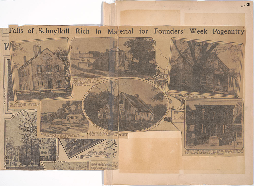 Castner Scrapbook v.27, Old Houses 4, page 39
