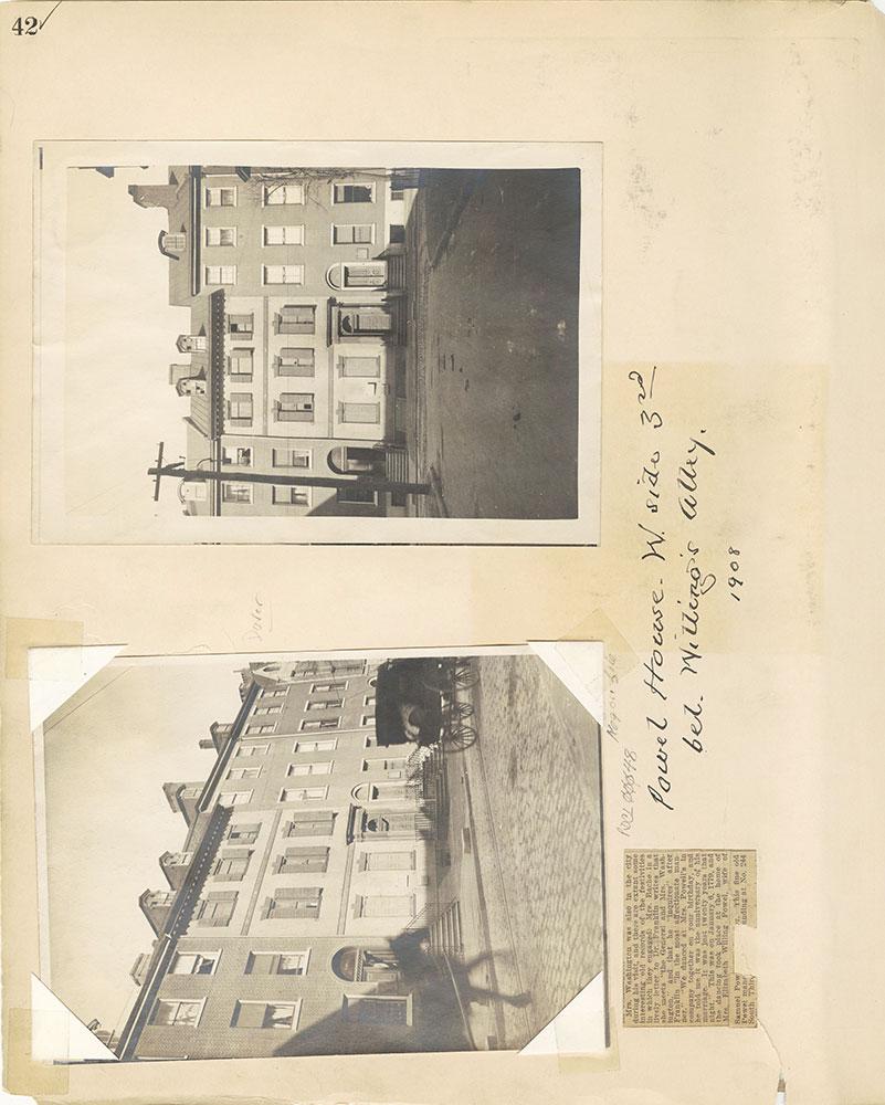 Castner Scrapbook v.27, Old Houses 4, page 42