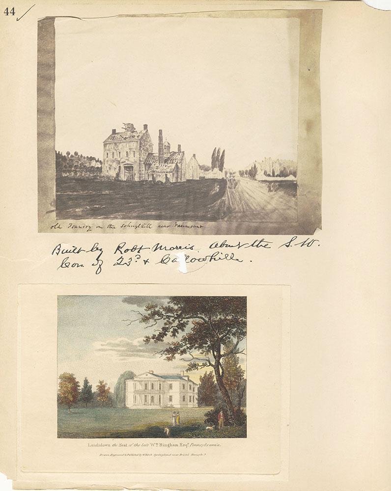 Castner Scrapbook v.27, Old Houses 4, page 44