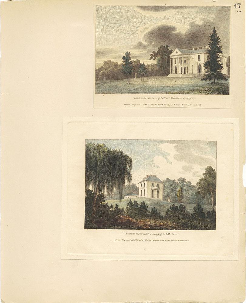 Castner Scrapbook v.27, Old Houses 4, page 47