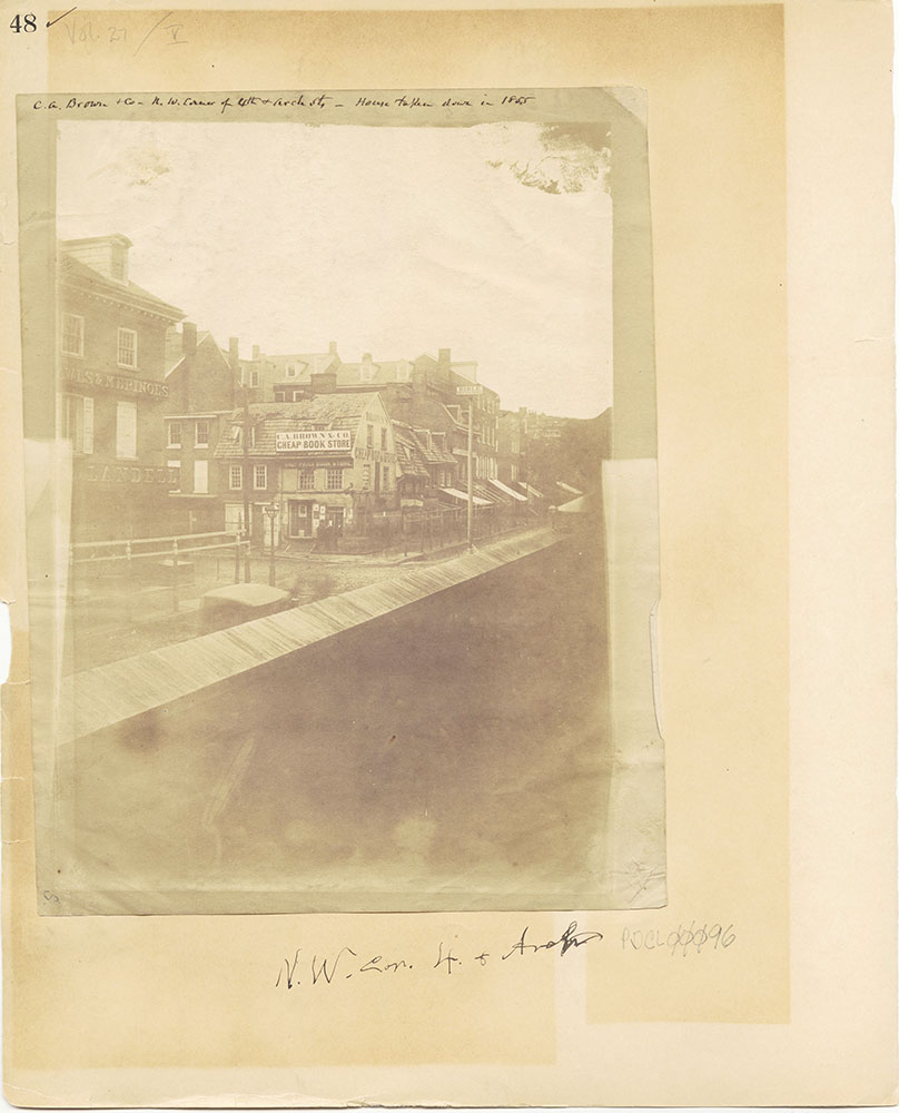 Castner Scrapbook v.27, Old Houses 4, page 48