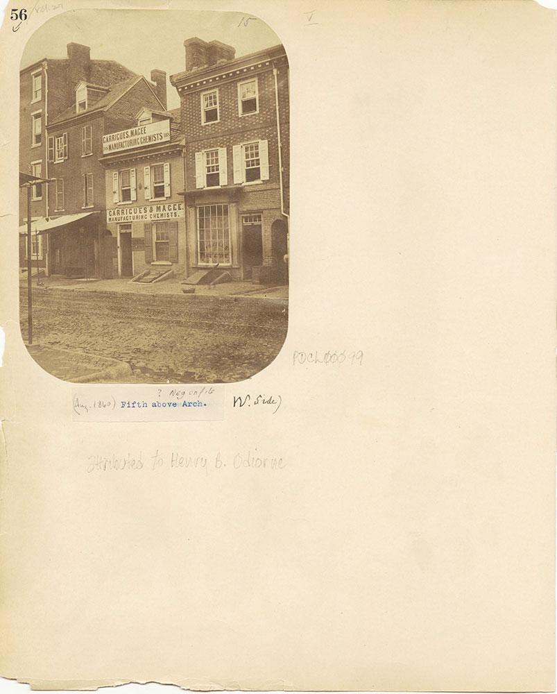 Castner Scrapbook v.27, Old Houses 4, page 56