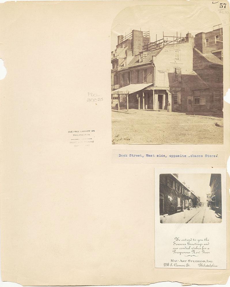 Castner Scrapbook v.27, Old Houses 4, page 57