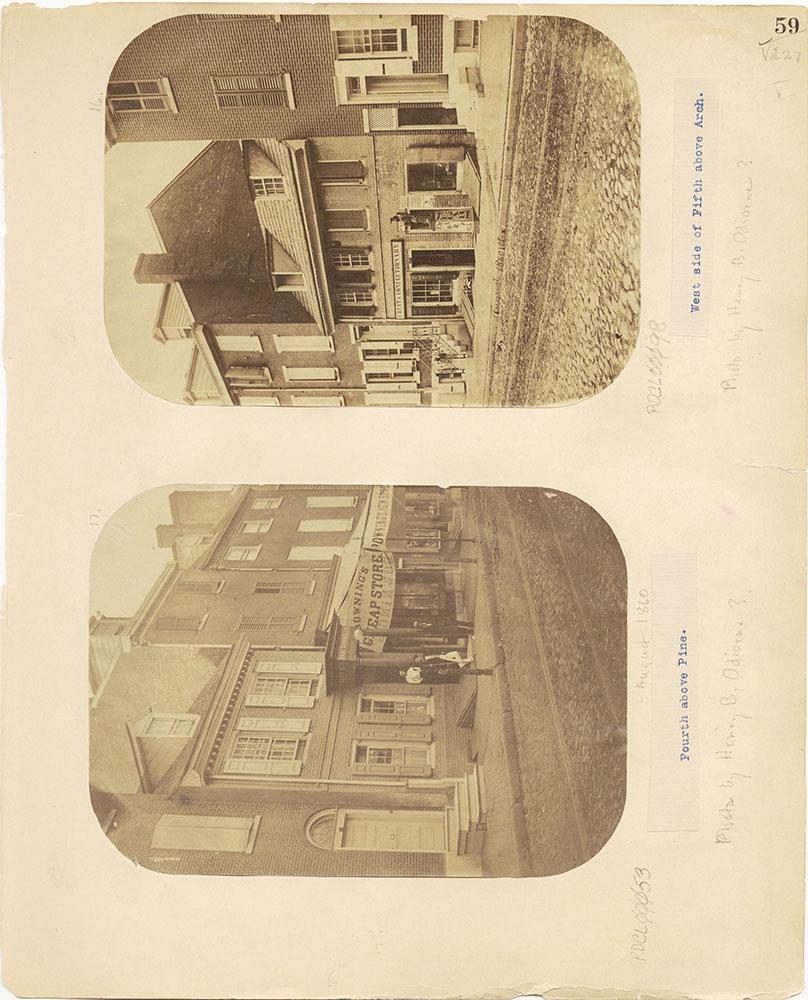 Castner Scrapbook v.27, Old Houses 4, page 59