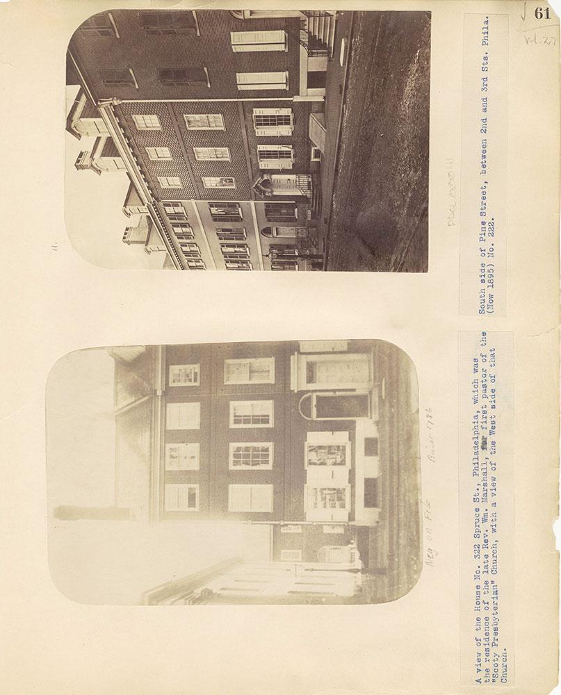 Castner Scrapbook v.27, Old Houses 4, page 61