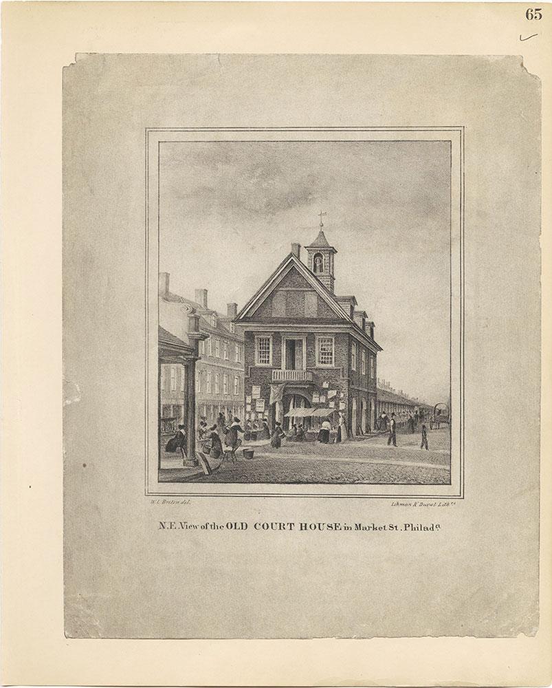 Castner Scrapbook v.27, Old Houses 4, page 65