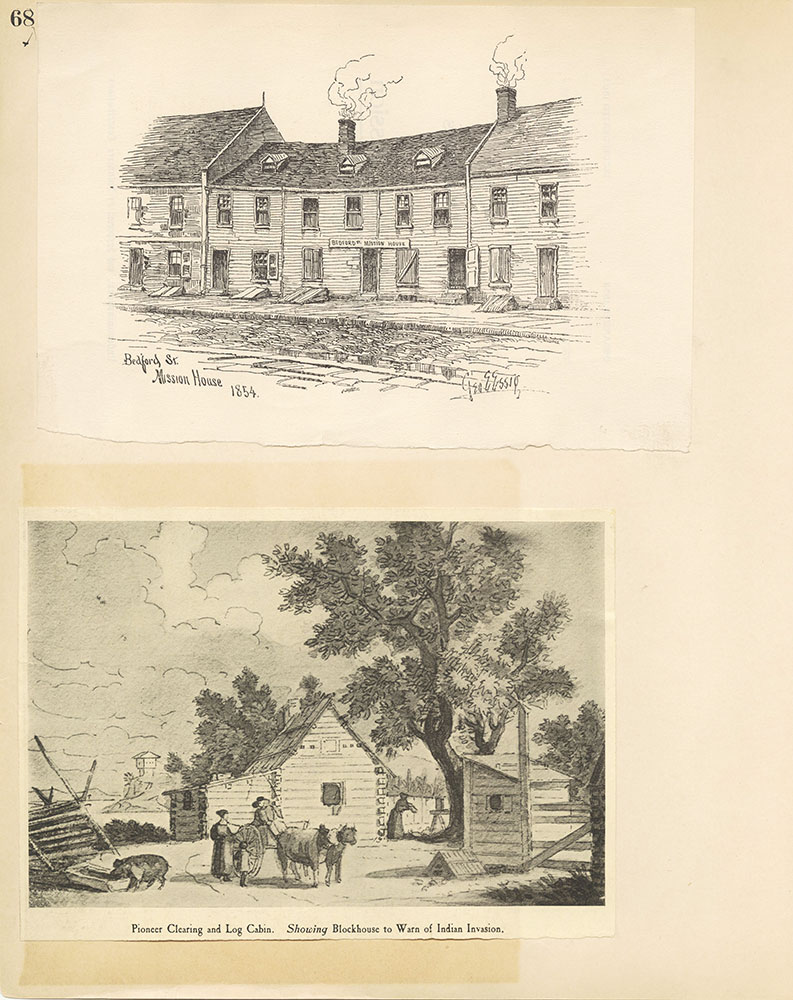 Castner Scrapbook v.27, Old Houses 4, page 68