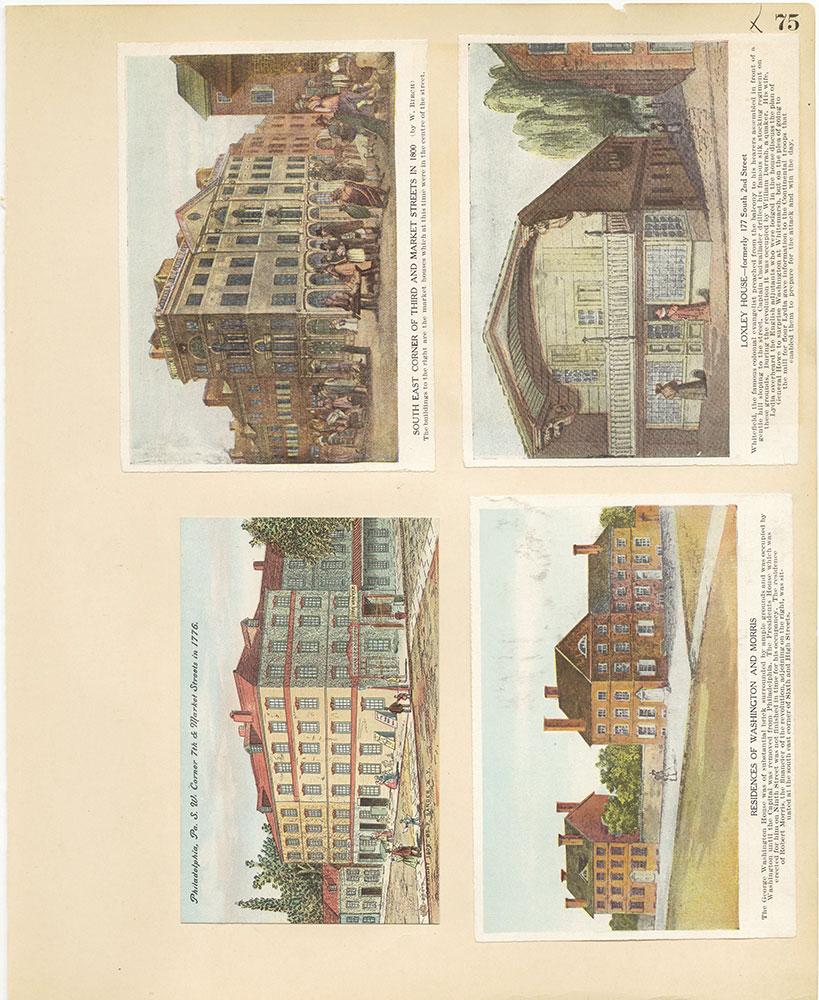 Castner Scrapbook v.27, Old Houses 4, page 75