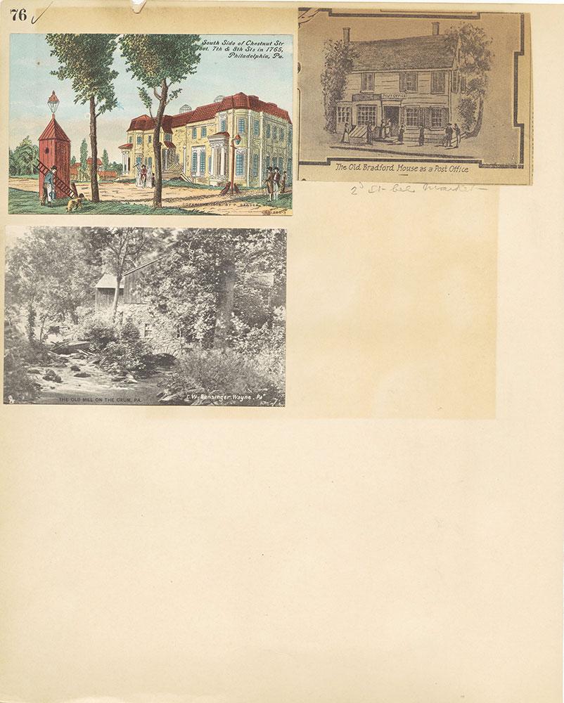 Castner Scrapbook v.27, Old Houses 4, page 76