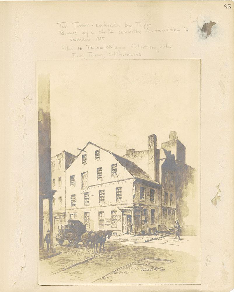 Castner Scrapbook v.27, Old Houses 4, page 85