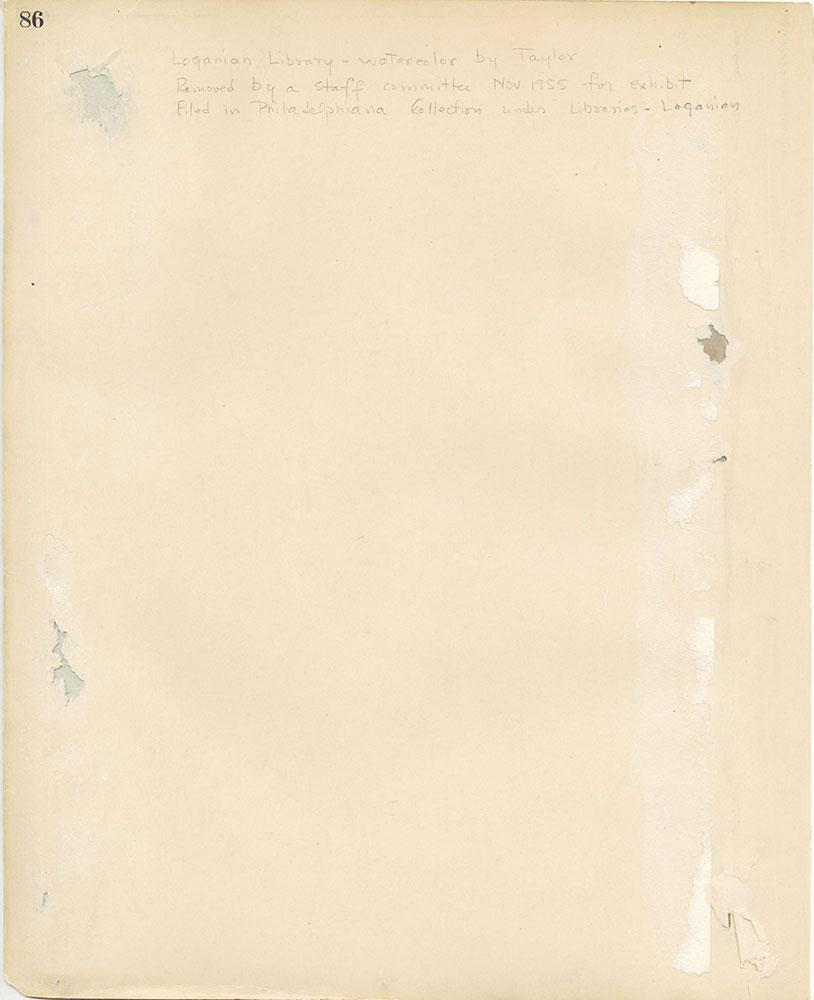 Castner Scrapbook v.27, Old Houses 4, page 86