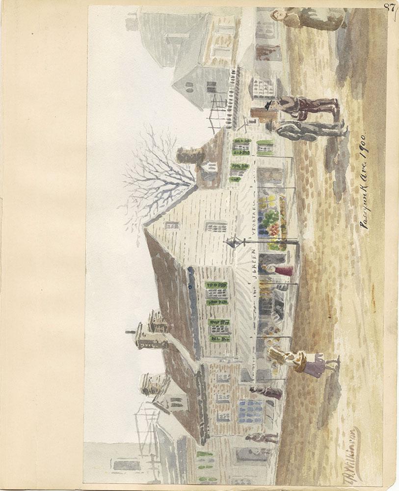 Castner Scrapbook v.27, Old Houses 4, page 87