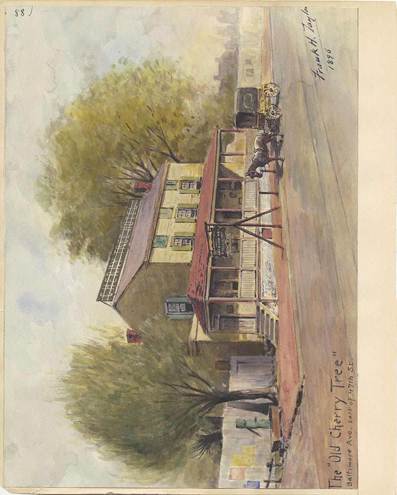 Castner Scrapbook v.27, Old Houses 4, page 88