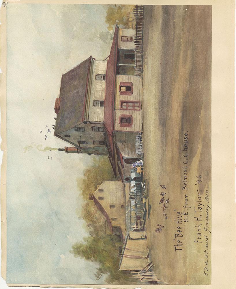 Castner Scrapbook v.27, Old Houses 4, page 94