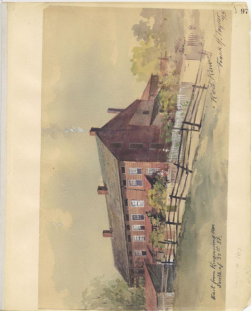 Castner Scrapbook v.27, Old Houses 4, page 97