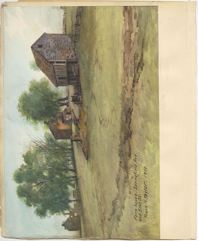 Castner Scrapbook v.27, Old Houses 4, page 98