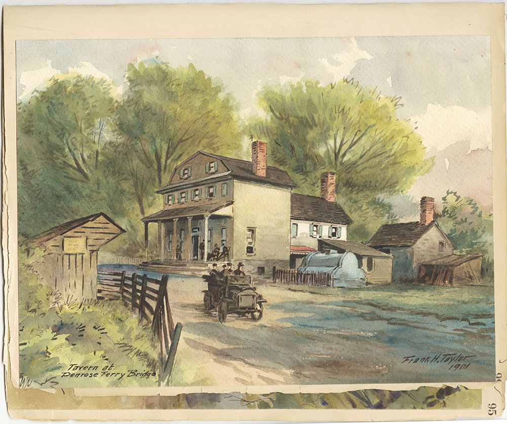 Castner Scrapbook v.27, Old Houses 4, page 99