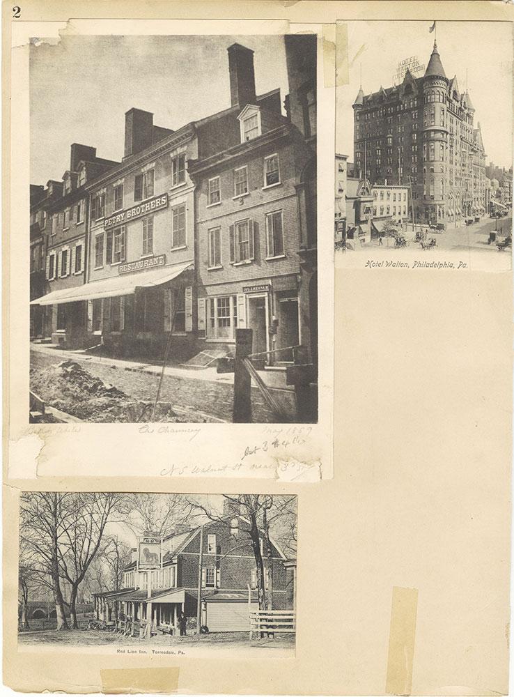 Castner Scrapbook v.29, Hotels 2, page 2