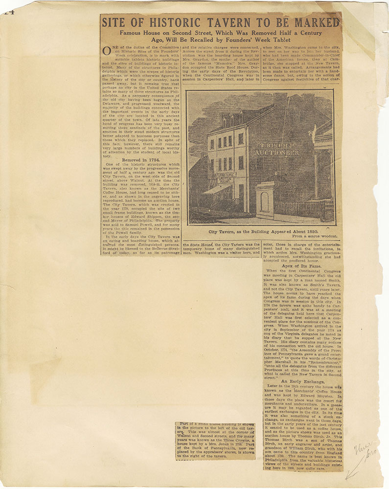 Castner Scrapbook v.29, Hotels 2, page 14