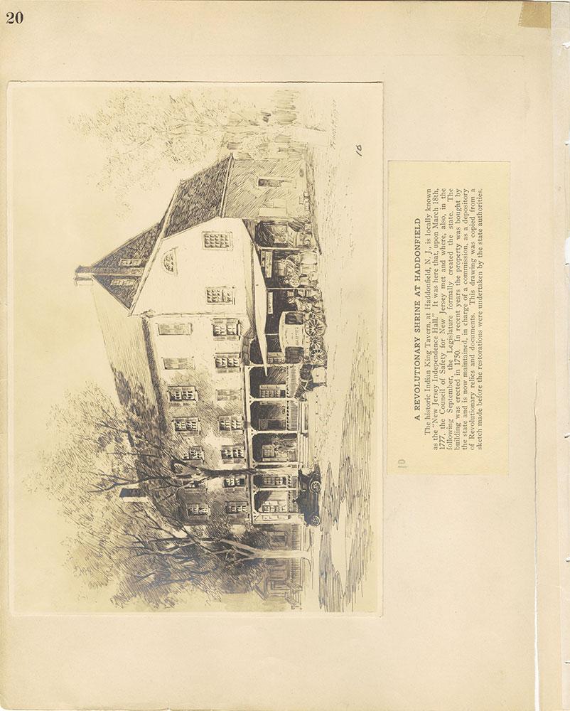 Castner Scrapbook v.29, Hotels 2, page 20