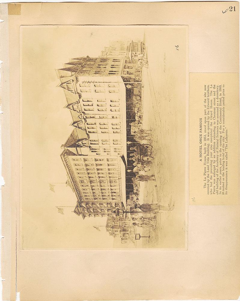 Castner Scrapbook v.29, Hotels 2, page 21