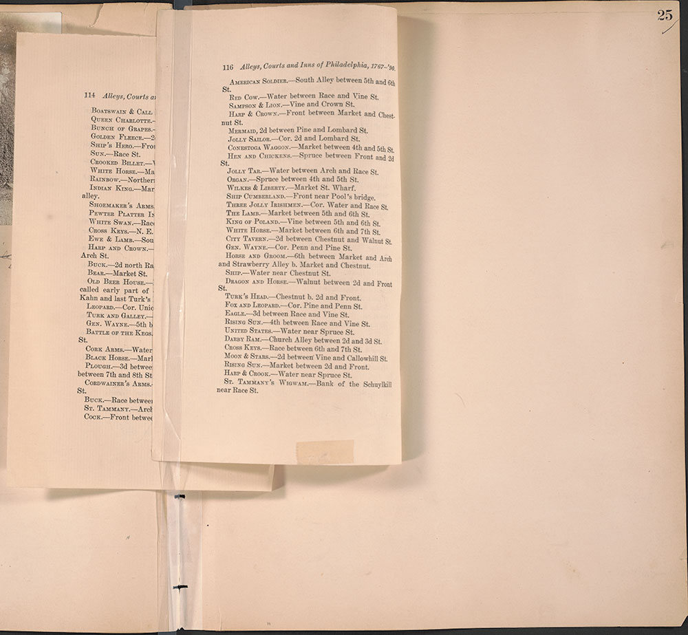 Castner Scrapbook v.29, Hotels 2, page 25