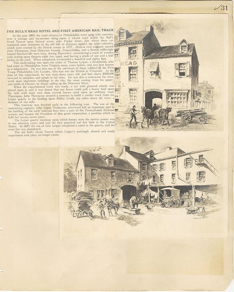Castner Scrapbook v.29, Hotels 2, page 31