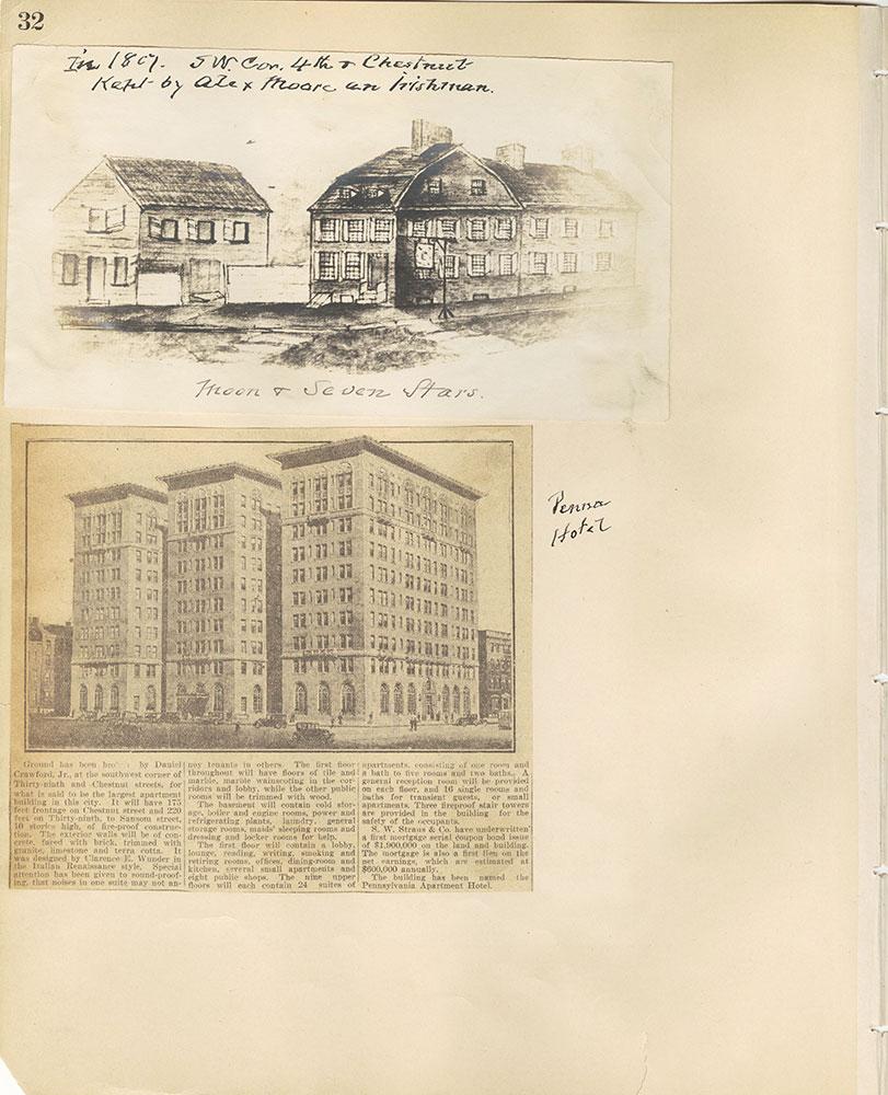 Castner Scrapbook v.29, Hotels 2, page 32