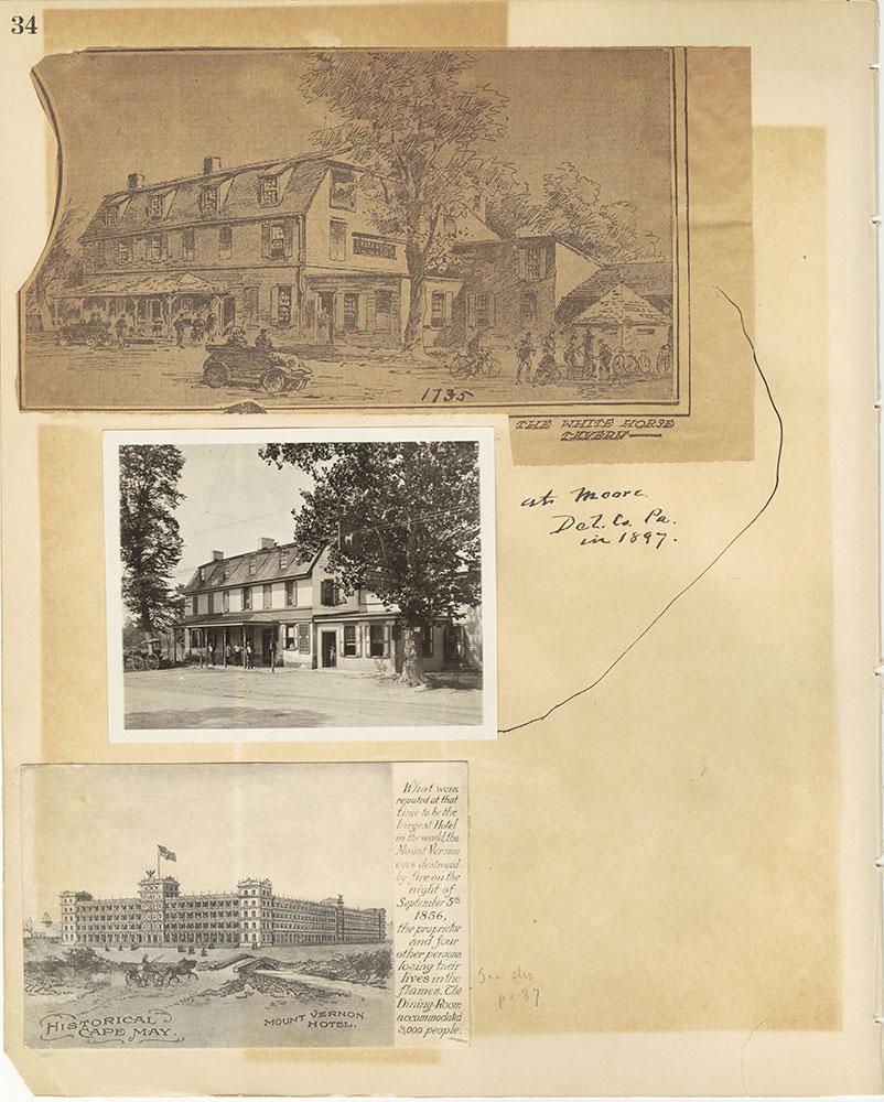 Castner Scrapbook v.29, Hotels 2, page 34